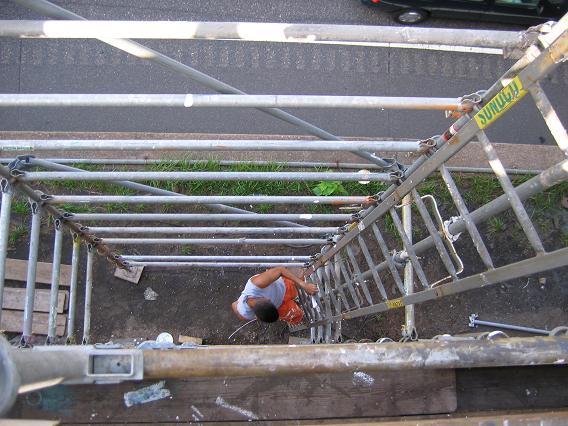 looking_down_ladder